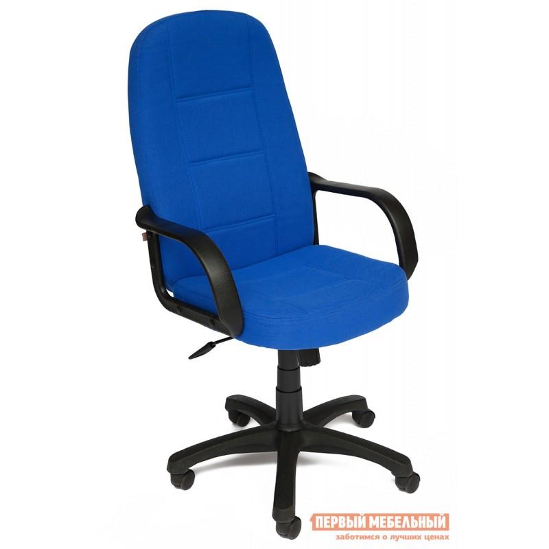 Кресло руководителя  СН747 Ткань синяя NF 2601