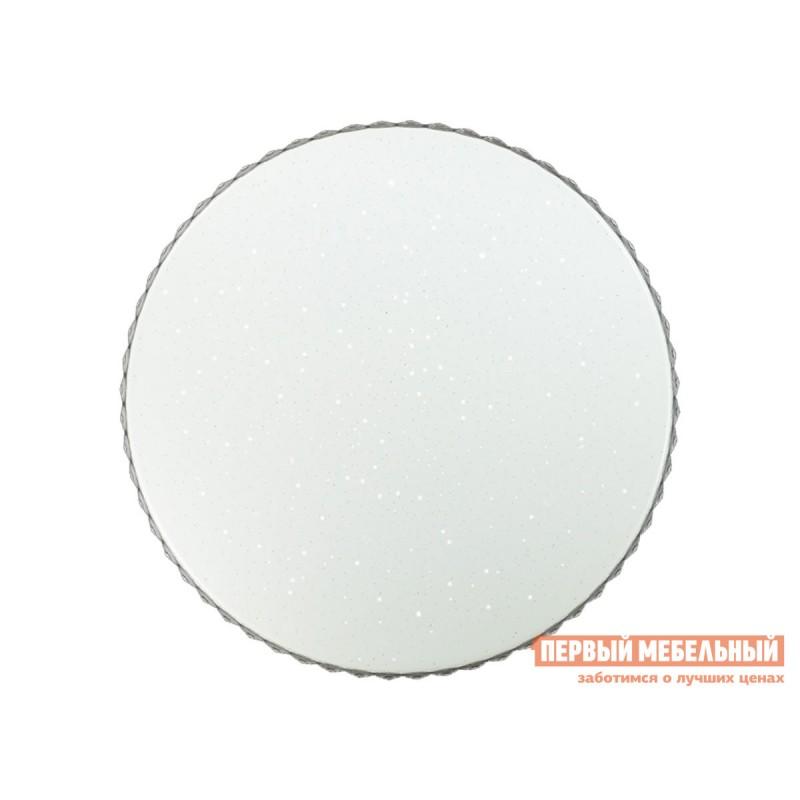 Люстра  2077/EL SN 065 Светильник пластик LED 72Вт 3000-6000K D500 IP43 пульт ДУ Dina Белый / Прозрачный (фото 2)