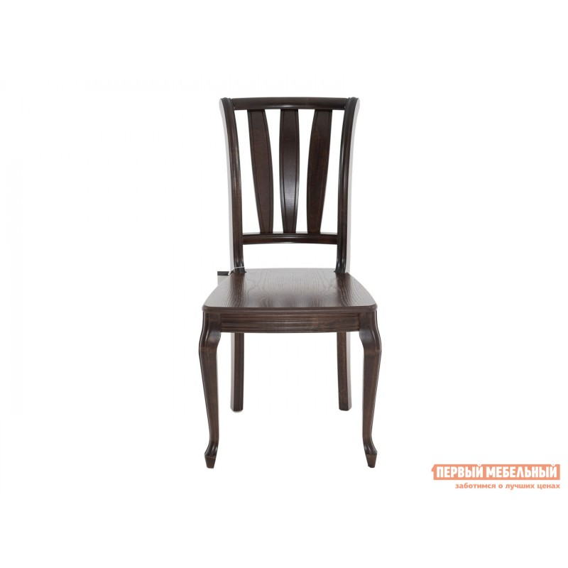 Стул  Стул Кабриоль с жесткой спинкой и сиденьем Темный орех (фото 2)