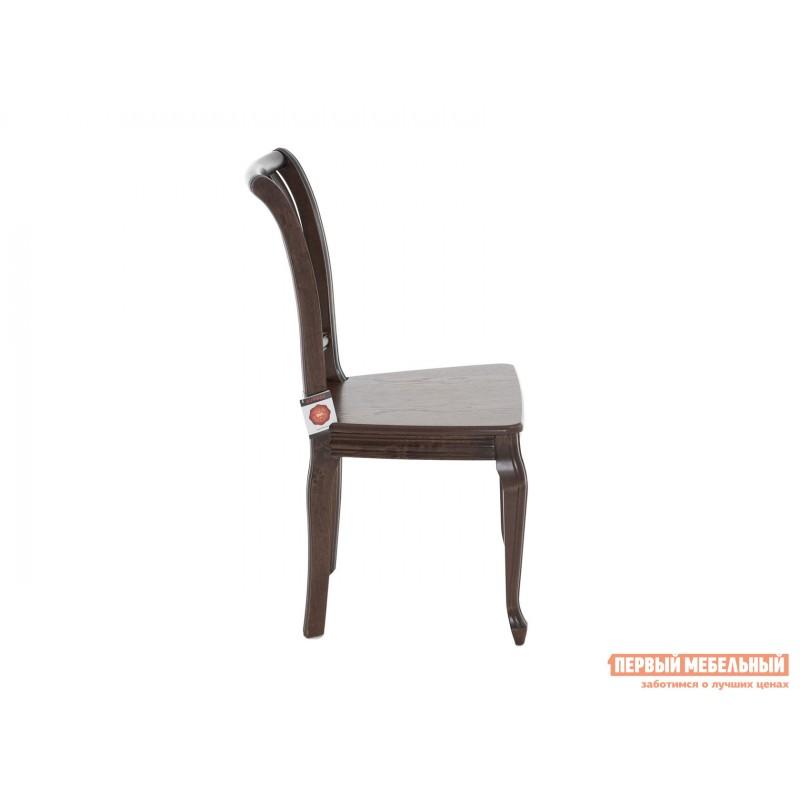 Стул  Стул Кабриоль с жесткой спинкой и сиденьем Темный орех (фото 3)