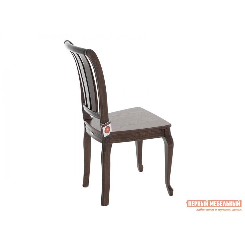 Стул  Стул Кабриоль с жесткой спинкой и сиденьем Темный орех (фото 5)
