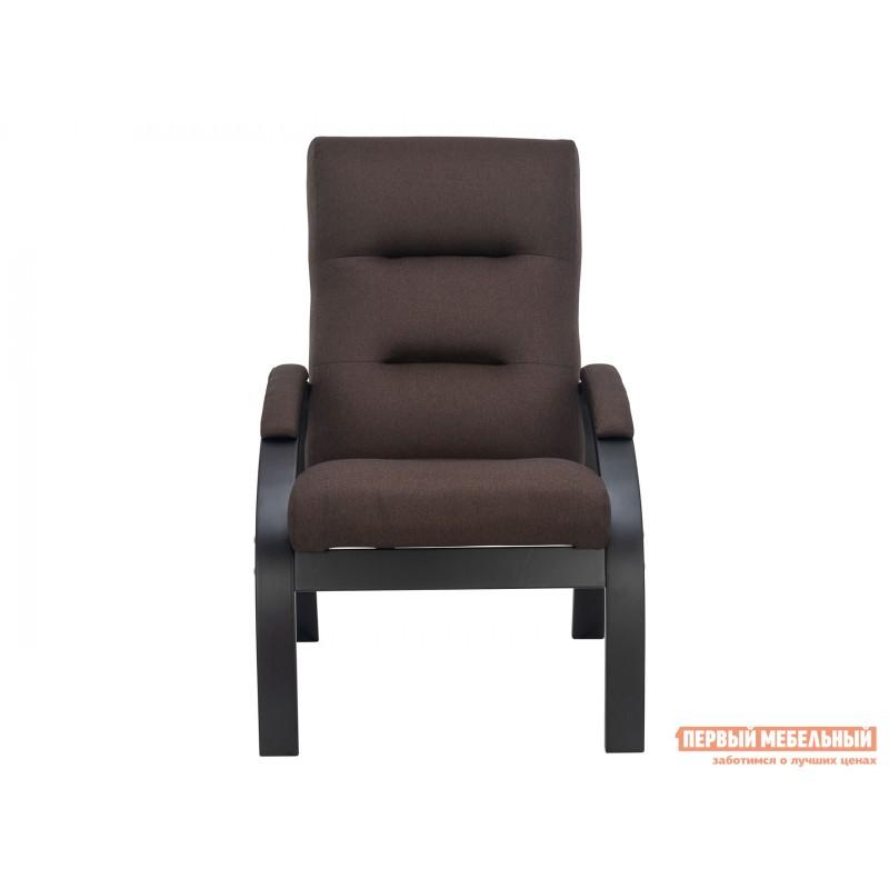 Кресло  Кресло Лион Люкс Черный / Коричневый, жаккард (фото 2)