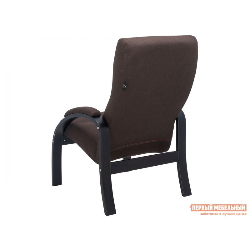 Кресло  Кресло Лион Люкс Черный / Коричневый, жаккард (фото 4)