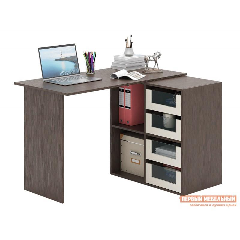 Письменный стол  Прайм-47 Венге / Дуб молочный