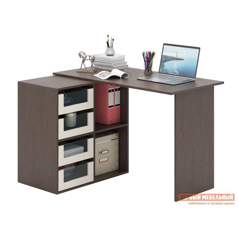 Письменный стол  Прайм-47 Венге / Дуб молочный (фото 2)