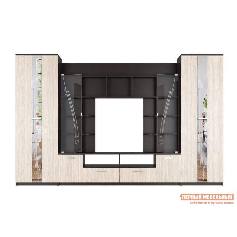 Гостиная  Стенка для гостиной Венеция Венге / Лоредо (фото 3)