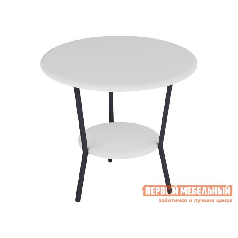 Журнальный столик  ШОТ Белый / Серый, металл