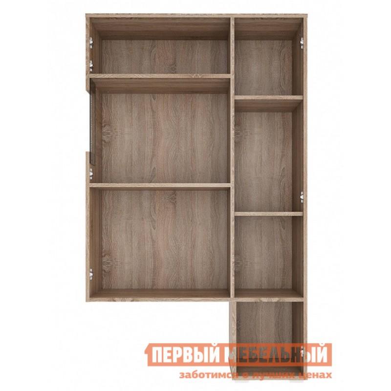Шкаф-витрина  Витрина Мишель Дуб Сонома трюфель / Латте (фото 2)