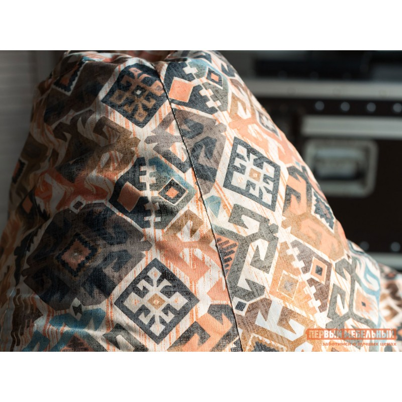 Кресло-мешок  Кресло Мешок Категория 3 жаккард Ясмин Коричневый, 2XL (фото 3)