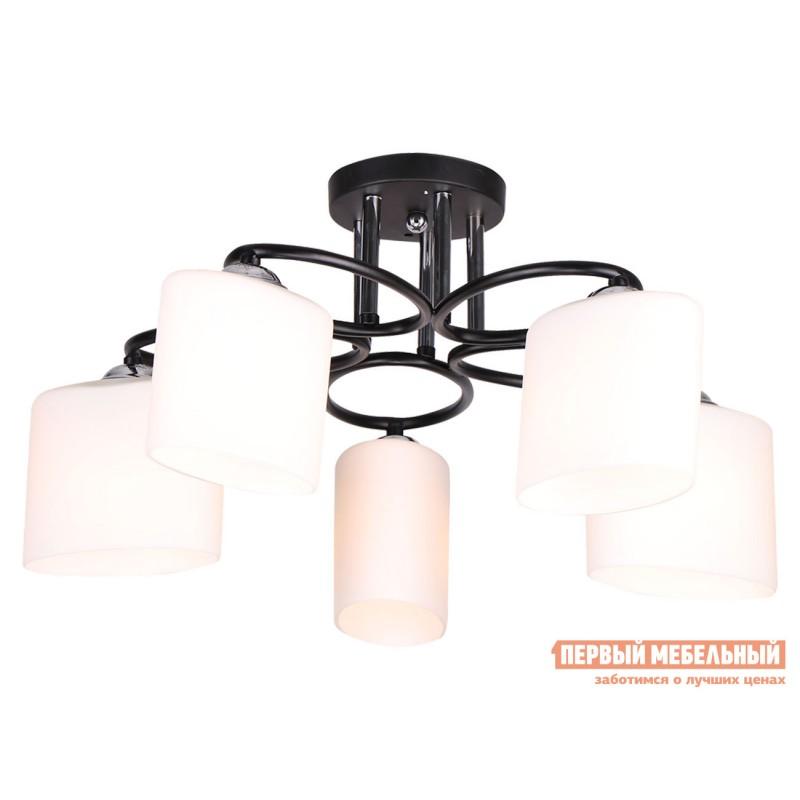 Потолочная люстра  Люстра потолочная MD.0617-5-S BK 5*60Вт E27 Черный / Белый