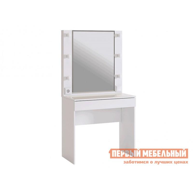 Комплект детской мебели  Гламур Белый / Белый глянец (фото 8)