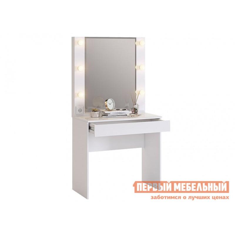 Комплект детской мебели  Гламур Белый / Белый глянец (фото 9)