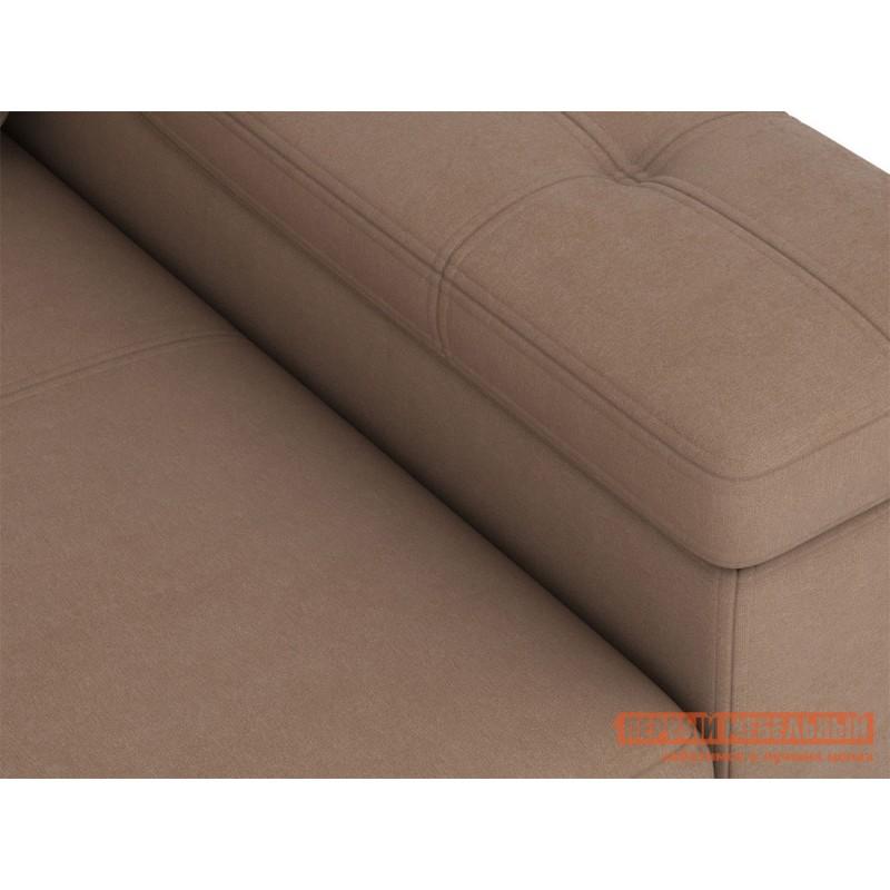 Угловой диван  Триумф с оттоманкой Мустанг, иск. замша (фото 5)
