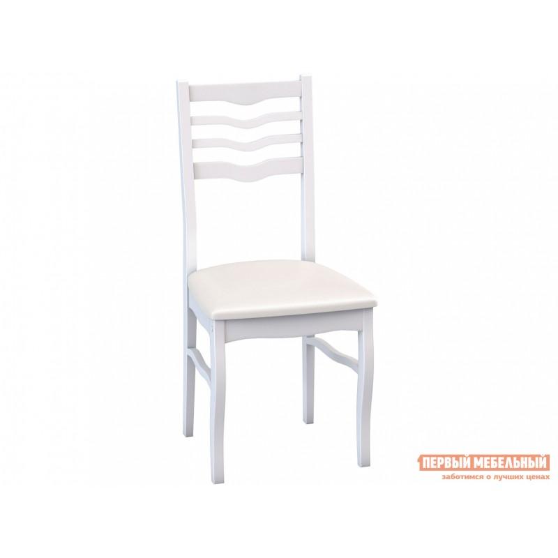 Стул  Стул М16 Белая эмаль / Белый кожзам (кв03)