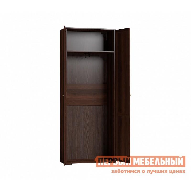 Шкаф распашной  Sherlock11 (гостиная) Шкаф  для одежды Орех Шоколадный (фото 2)