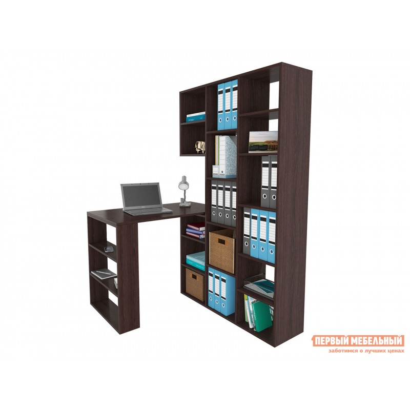 Компьютерный стол  Рикс-1 + Рикс-5 Венге