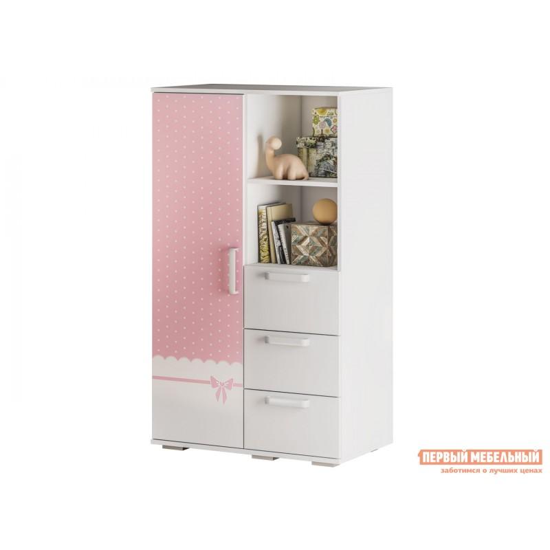 Шкаф детский  Трио Шкаф многофункциональный ШК-10 Белый, принцесса