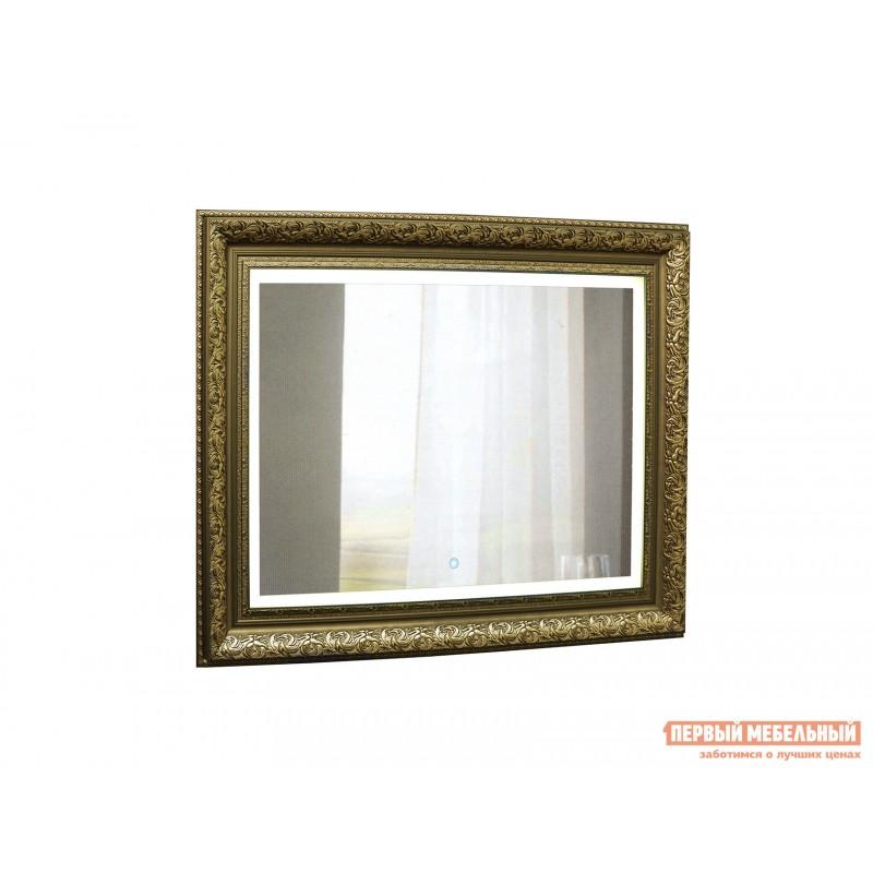 Настенное зеркало  ЗЛП27 Vintage LED 920x710 Зеркало, С сенсорным выключателем