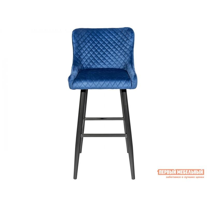Барный стул  MC15B HLR-65 Королевский синий, велюр (фото 2)