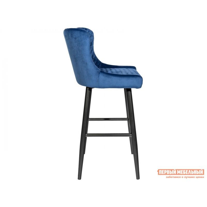 Барный стул  MC15B HLR-65 Королевский синий, велюр (фото 3)