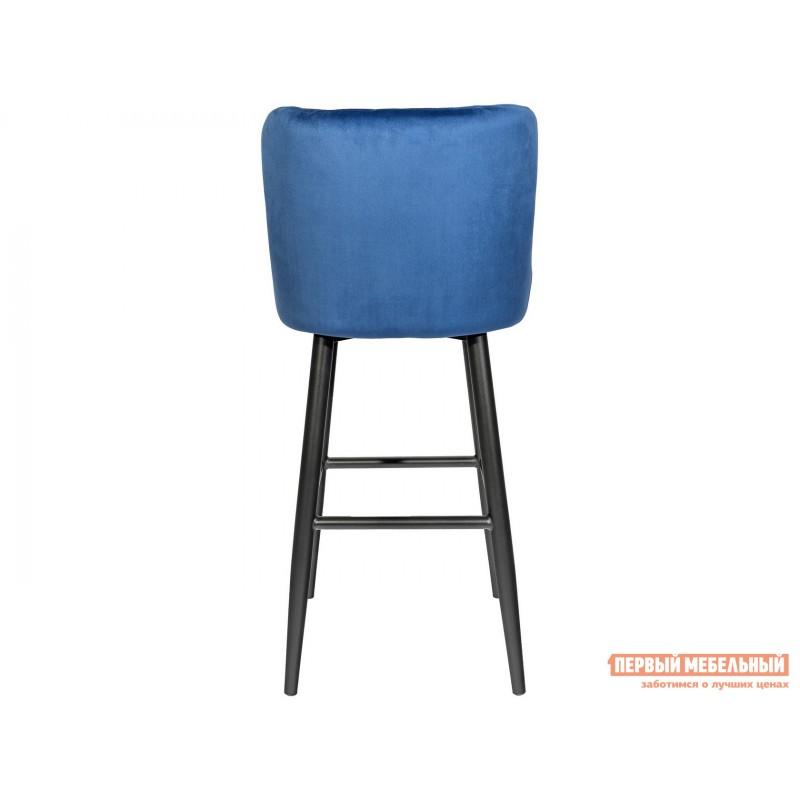 Барный стул  MC15B HLR-65 Королевский синий, велюр (фото 4)