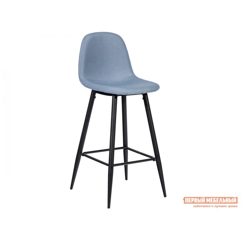 Барный стул  Стул барный Валенсия Небесно-голубой, рогожка
