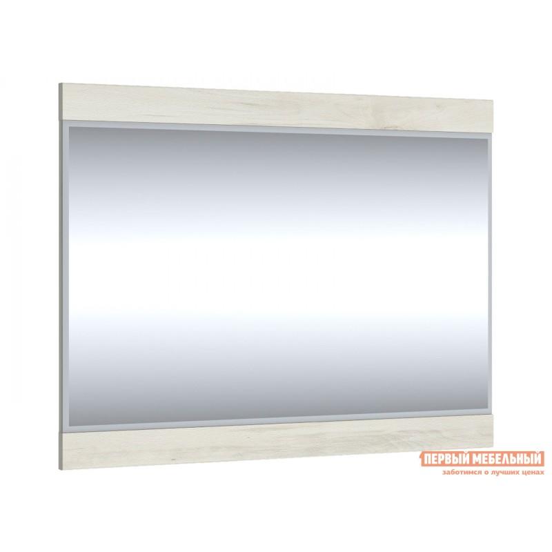 Настенное зеркало  Зеркало Бьерк 80х62 / Зеркало Бьерк 120х80 Ольха полярная, Малый