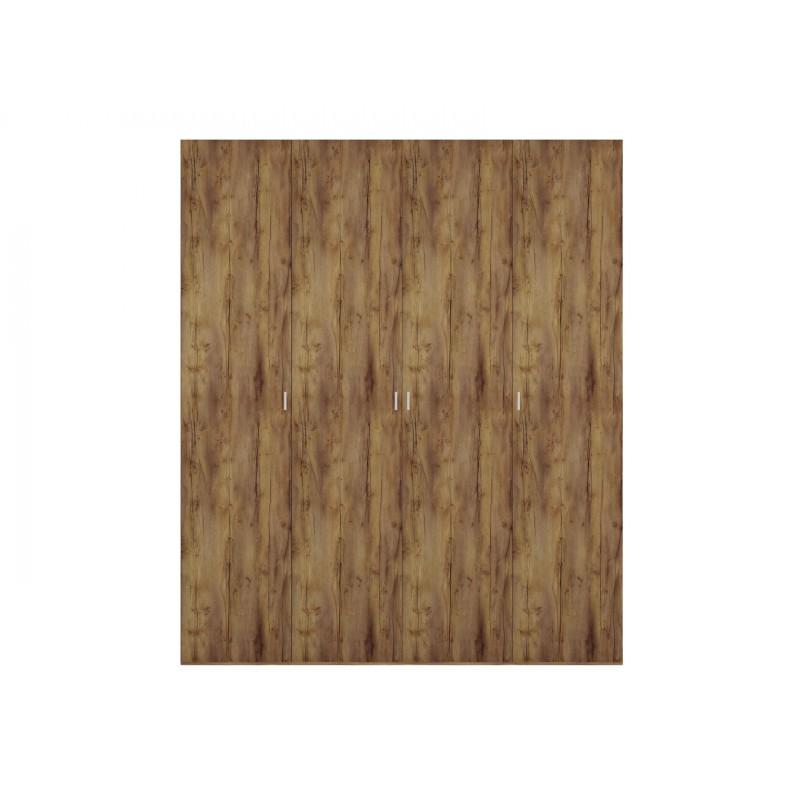 Шкаф распашной  Шкаф 4-х дверный Вега Бавария Таксония медовая, Без зеркала, Без топа-накладки (фото 2)