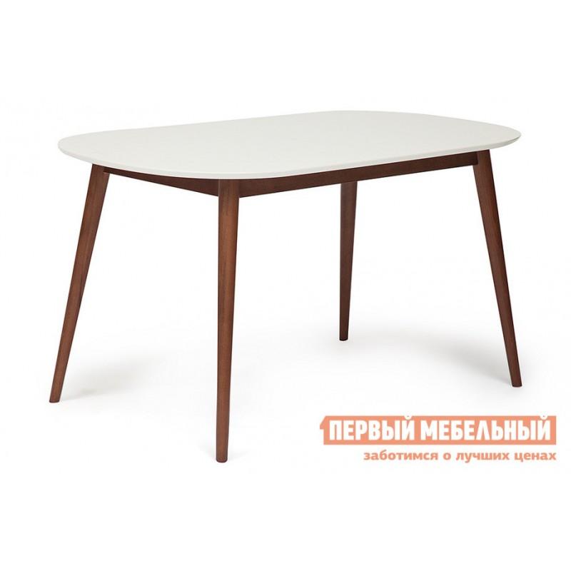 Кухонный стол  Стол обеденный MAX (Макс) Бук коричневый / Белый