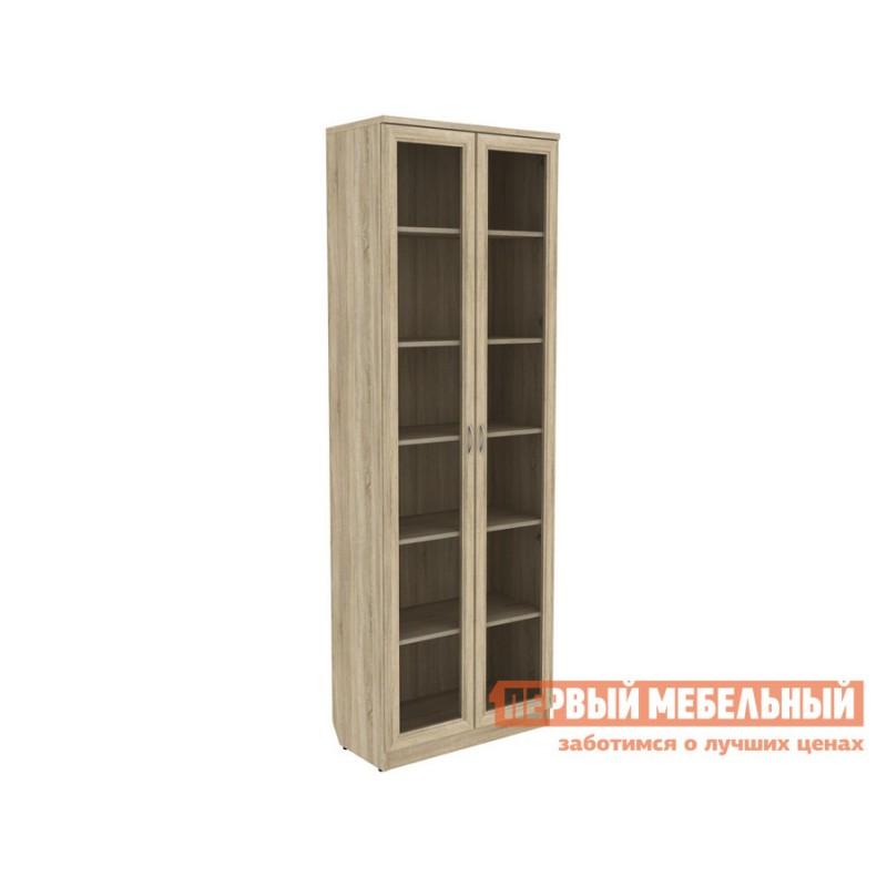 Шкаф-витрина  Мерлен 224 Дуб Сонома