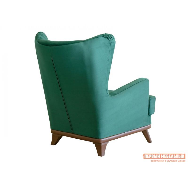 Кресло  Оскар Темно-зеленый, велюр (фото 2)