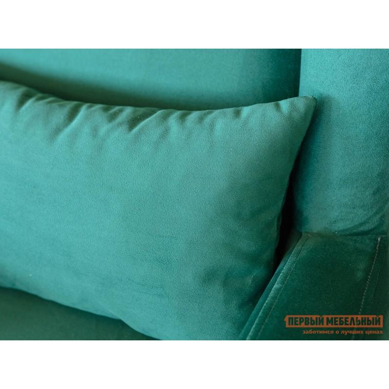 Кресло  Оскар Темно-зеленый, велюр (фото 3)