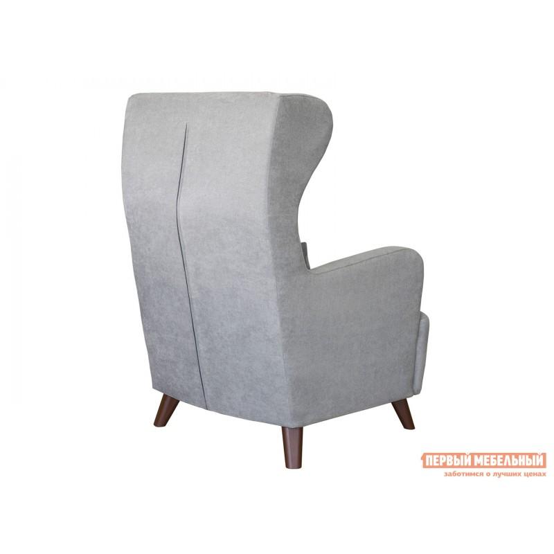 Кресло  Кресло Меланж Серый, велюр (фото 2)