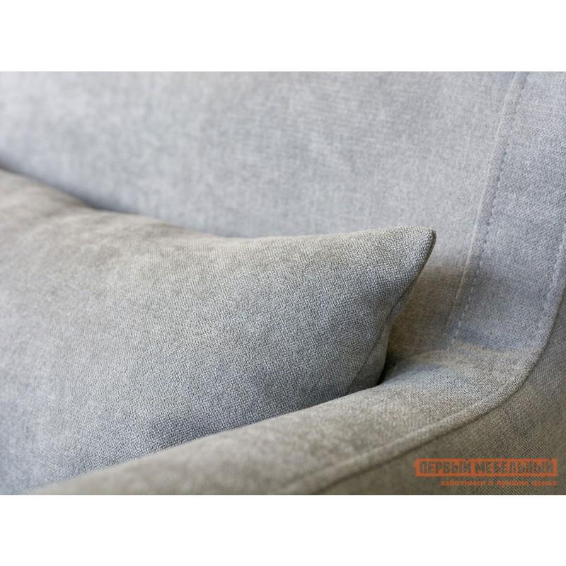 Кресло  Кресло Меланж Серый, велюр (фото 3)