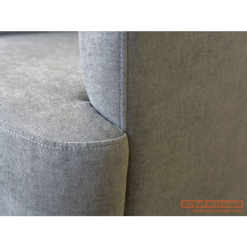 Кресло  Кресло Меланж Серый, велюр (фото 4)