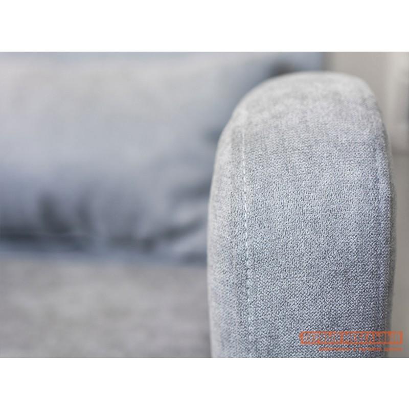 Кресло  Кресло Меланж Серый, велюр (фото 5)