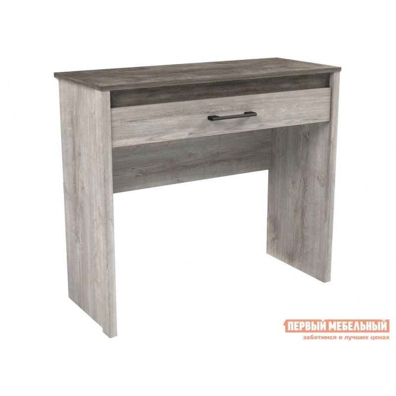 Туалетный столик  Столик туалетный Денвер Риббек серый / Камень темный
