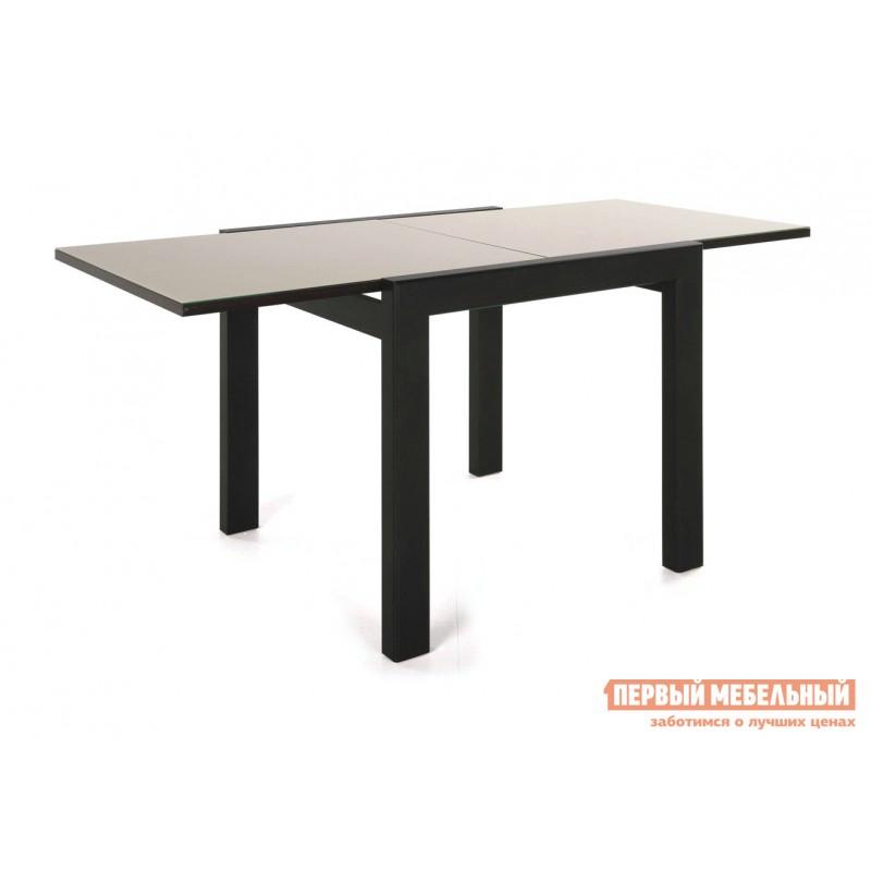 Кухонный стол  Джокер-Бизнес  Венге / Стекло бежевое