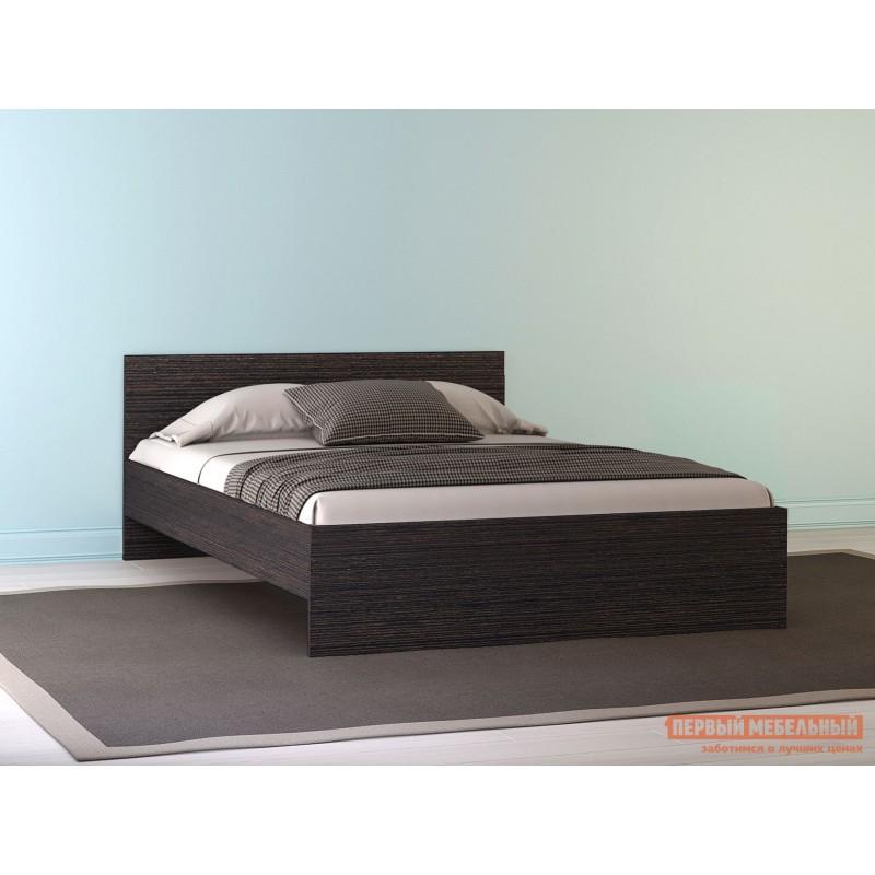 Двуспальная кровать  НИКОЛЬ кровать 1600 Х 2000 мм, С основанием, Венге (фото 2)