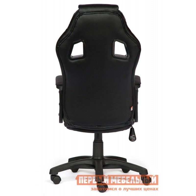 Игровое кресло  Driver Иск.кожа черная / Ткань серая, 36-6/12 (фото 3)
