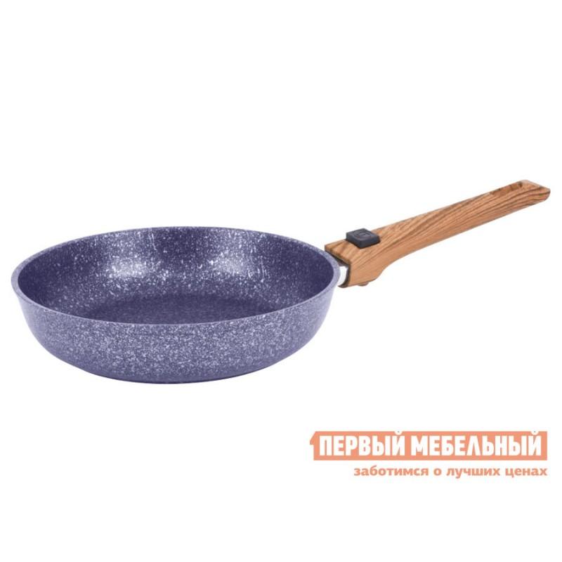 Набор кухонной посуды  Набор посуды Casta Provance. Комплект: Сковорода 22см, глубокая со съёмной ручкой. Сковорода 28см, глубокая со съёмной ручкой Provance, фиолетовый перламутр (фото 2)