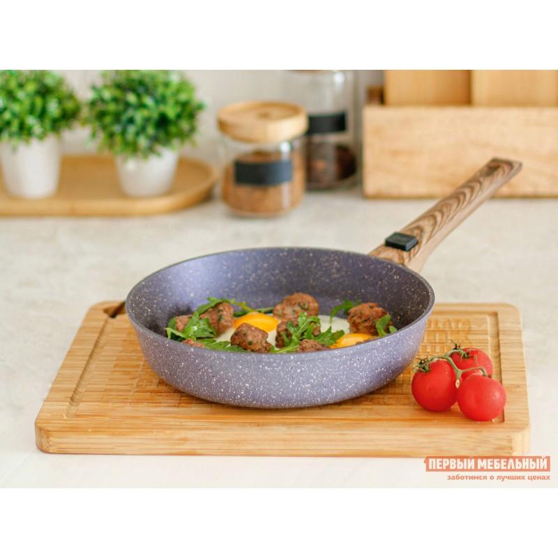 Набор кухонной посуды  Набор посуды Casta Provance. Комплект: Сковорода 22см, глубокая со съёмной ручкой. Сковорода 28см, глубокая со съёмной ручкой Provance, фиолетовый перламутр (фото 4)