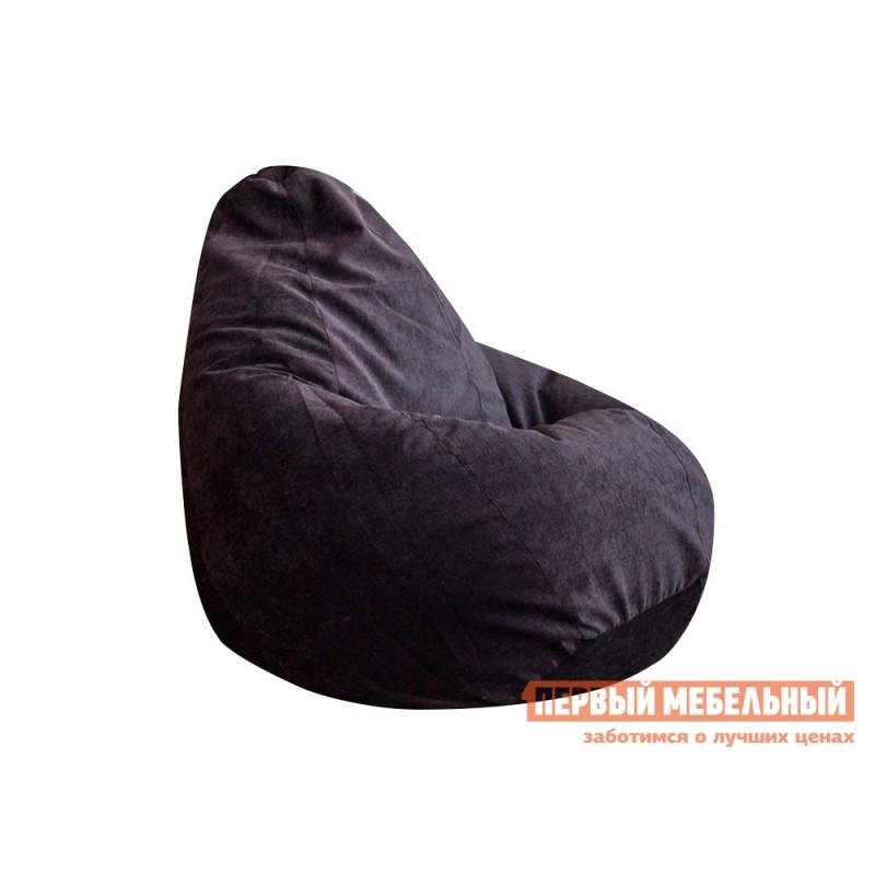 Кресло-мешок  Кресло-мешок Микровельвет Темно-серый микровельвет, XL