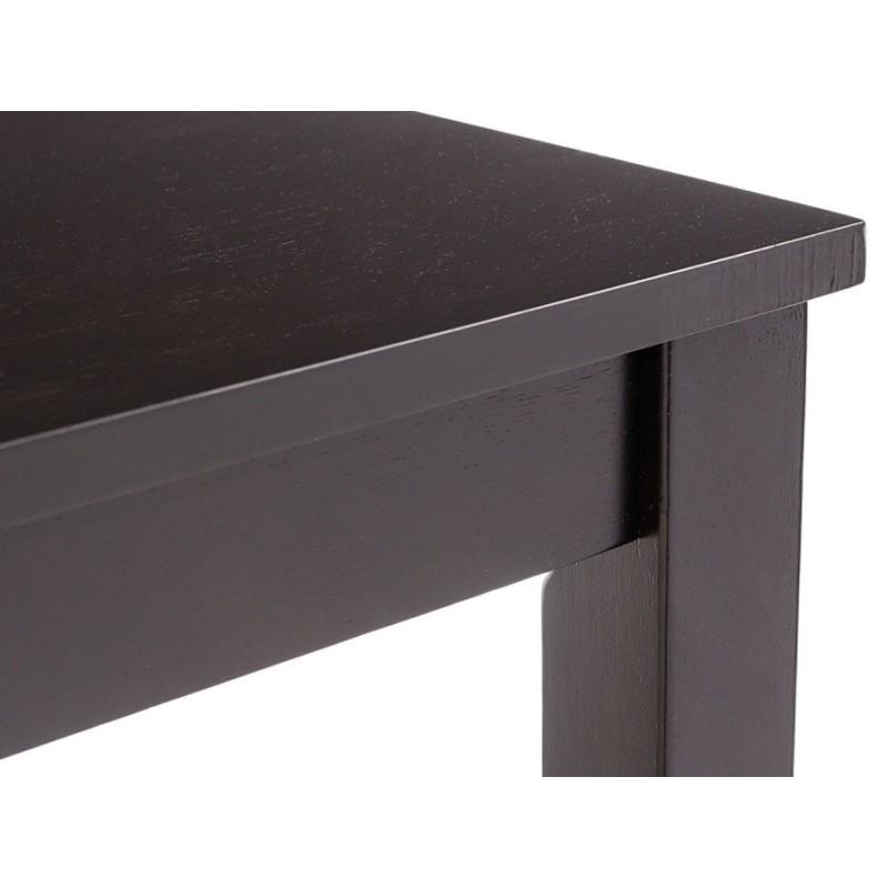 Обеденная группа для столовой и гостиной  Обеденная группа Luar (стол и 4 стула) Бежевый, кожзам / Капучино (фото 6)