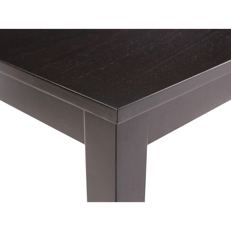Обеденная группа для столовой и гостиной  Обеденная группа Luar (стол и 4 стула) Бежевый, кожзам / Капучино (фото 8)