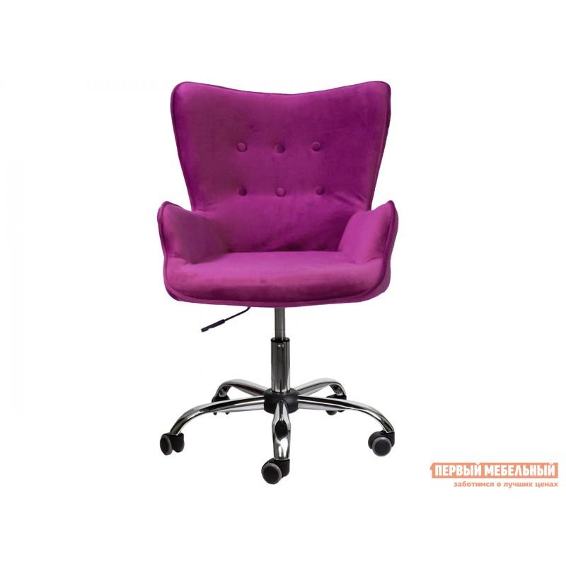 Офисное кресло  Офисное кресло BELLA Фиолетовый, велюр (фото 2)