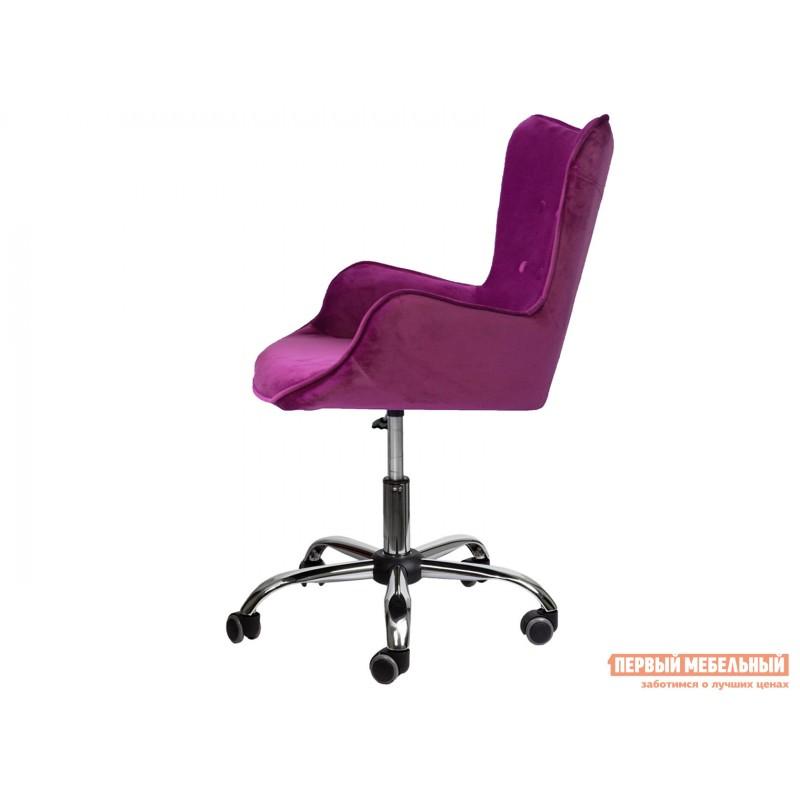 Офисное кресло  Офисное кресло BELLA Фиолетовый, велюр (фото 3)