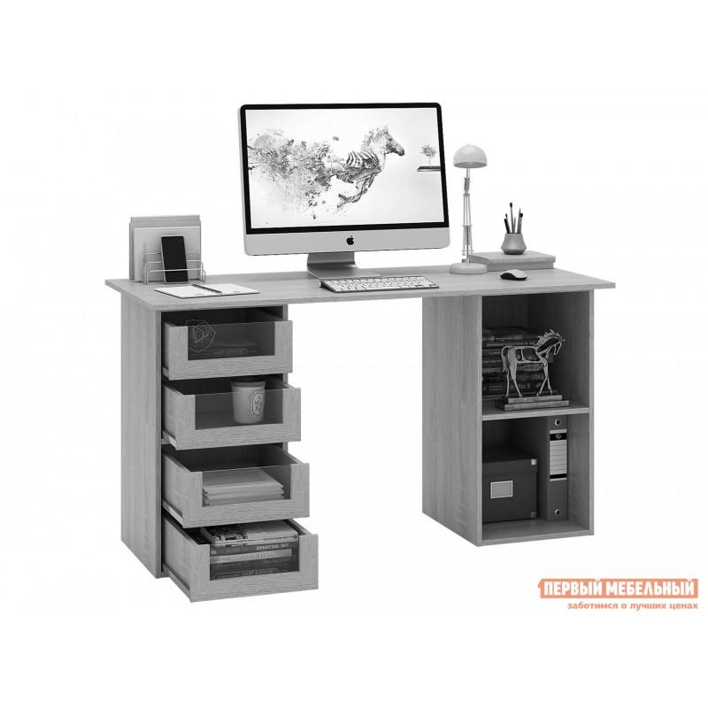 Письменный стол  Прайм-64 Венге / Белый (фото 2)
