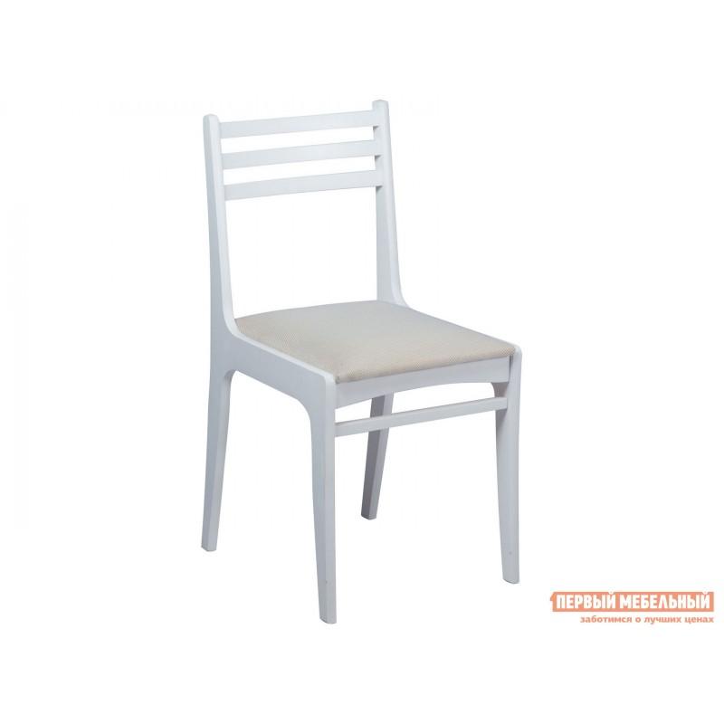Стул  Грис (С8) Белая эмаль / Брикс Ивори