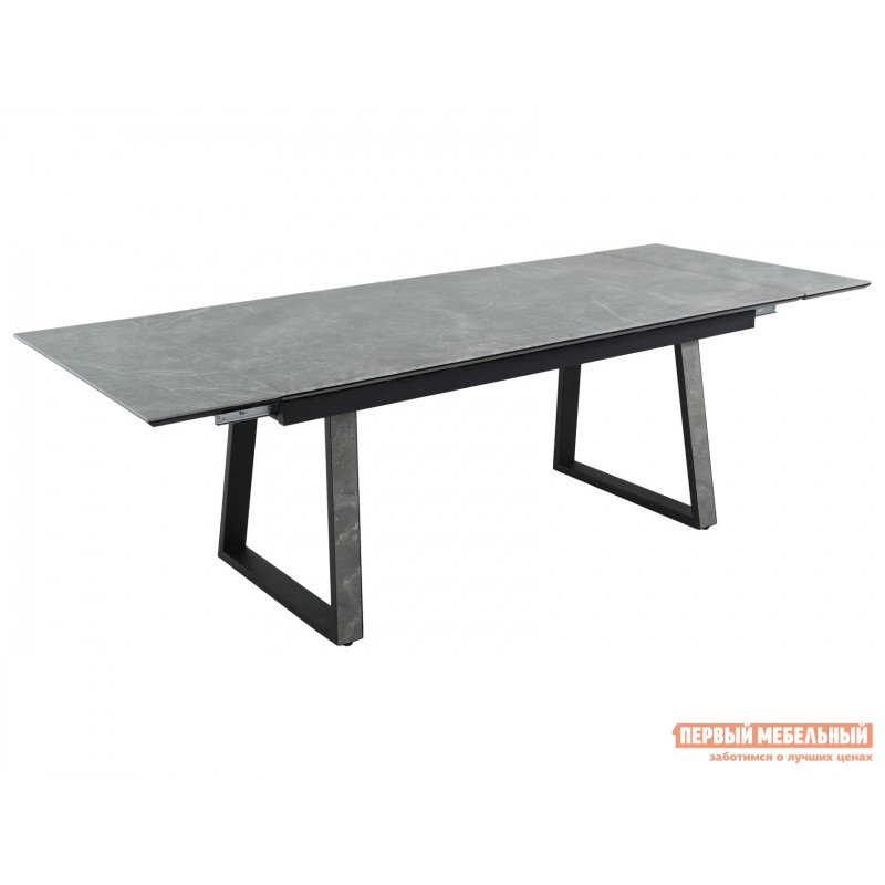 Кухонный стол  Монако Bayona grey / Черный, металл (фото 3)